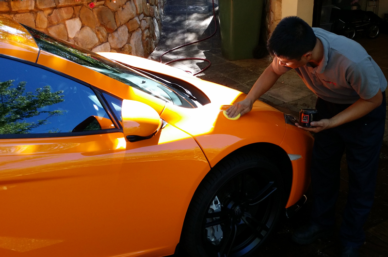 Maintenance Detail – Mclaren P4 12C